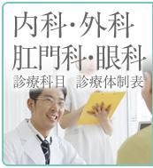 内科・外科・肛門科・眼科